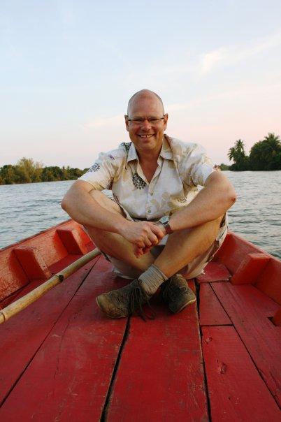 John Einar Sandvand i Kambodsja