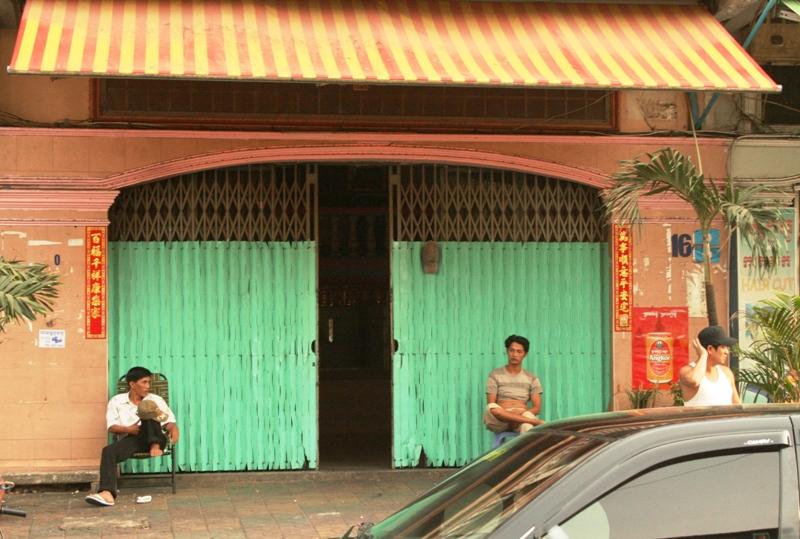 Bordellet i Phnom Penh hvor forfatteren ble tilbudt 13 år gamle jenter for sex