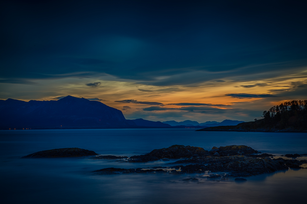 Night at Smøla. Photo: John Einar Sandvand