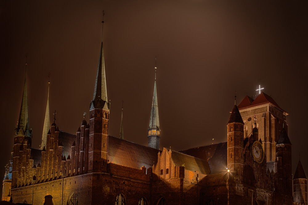 St. Mary´s church in Gdansk, taken from the window of the apartment hotel where I stayed. Photo: John Einar Sandvand