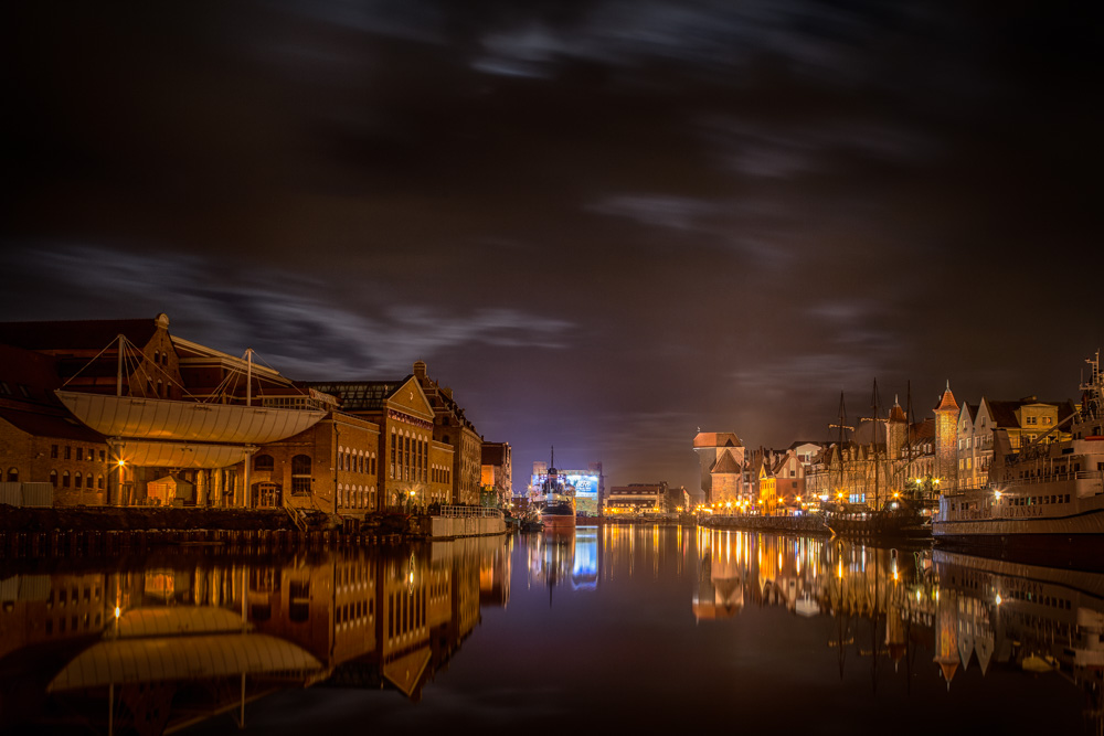 The same area in Gdansk as the main photo in this article, but taken from the opposide side a few months earlier. Photo: John Einar Sandvand