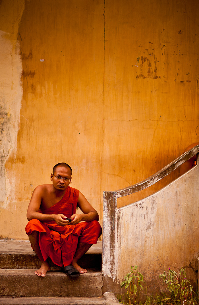 In his own thought. From Phnom Penh, Cambodia. Photo: John Einar Sandvand