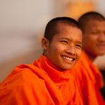 Strong colors: The monks of Southeast Asia