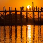 Photography in Myanmar: Meeting the sun at U Bein bridge