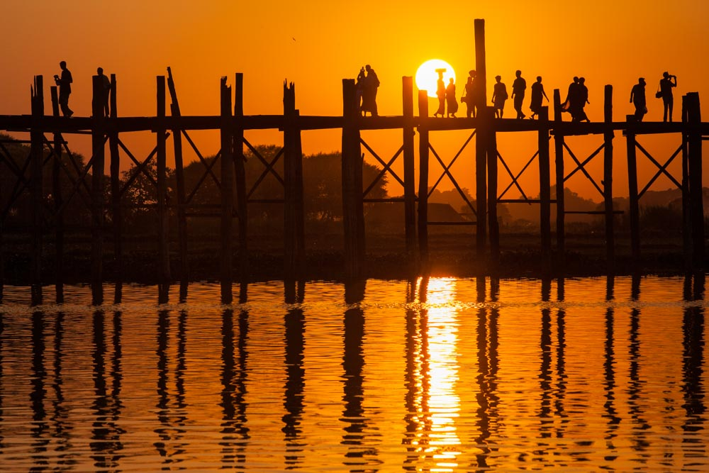 U Bein bridge in Myanmar. Photo: John Einar Sandvand