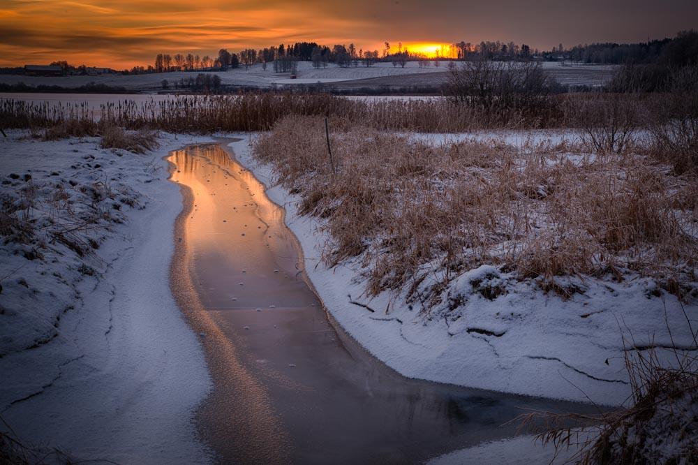 Different perspective - using the same creek. Photo: John Einar Sandvand