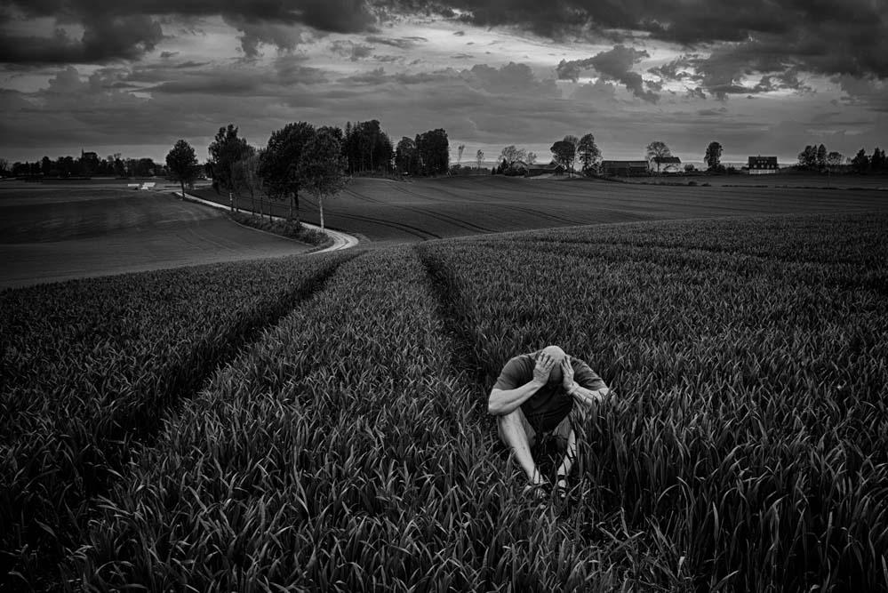 Tristhet. Foto: John Einar Sandvand