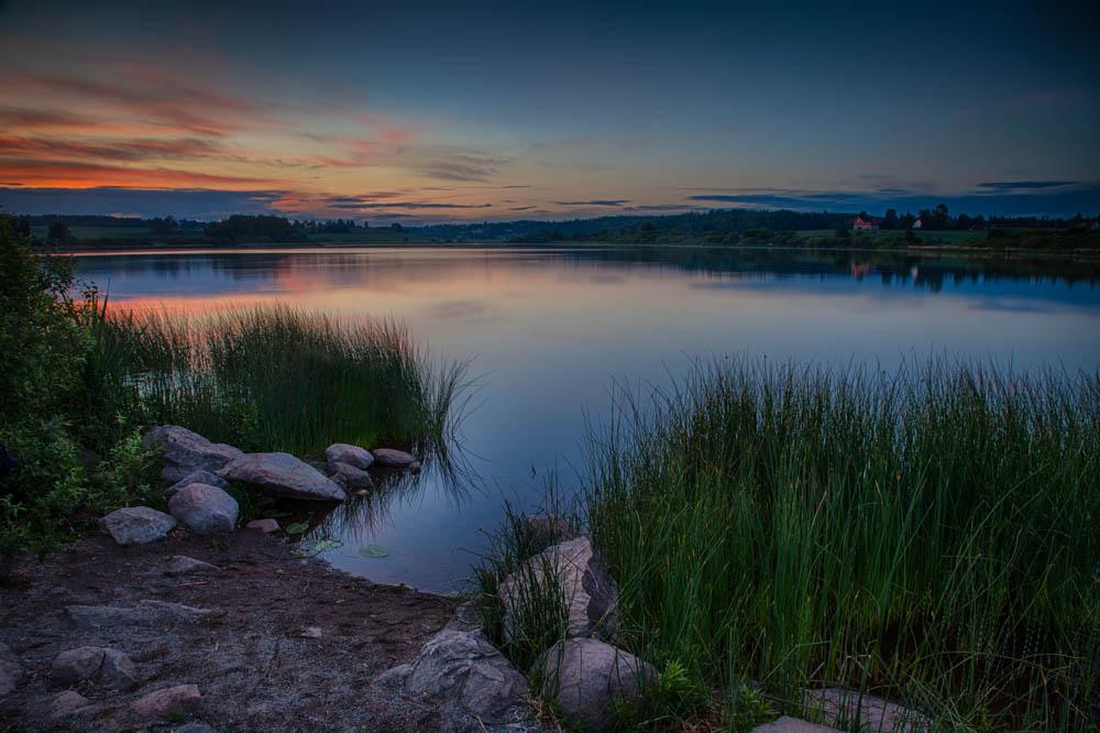 Kveld ved Østensjøvannet. Foto: John Einar Sandvand