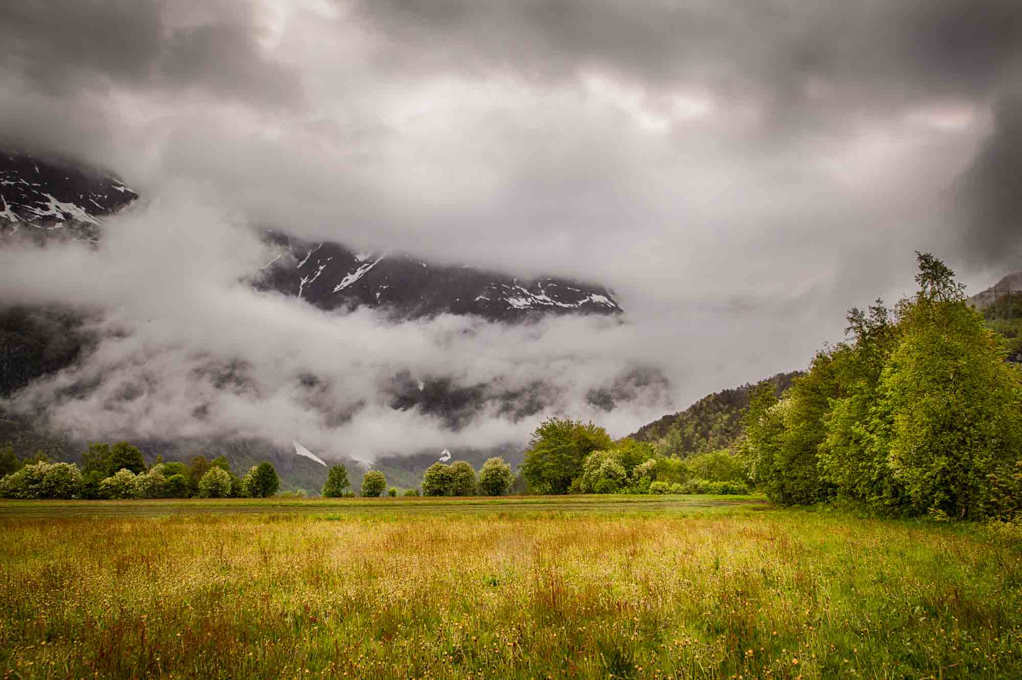 Bad weather can be great weather for photography. Photo: John Einar Sandvand